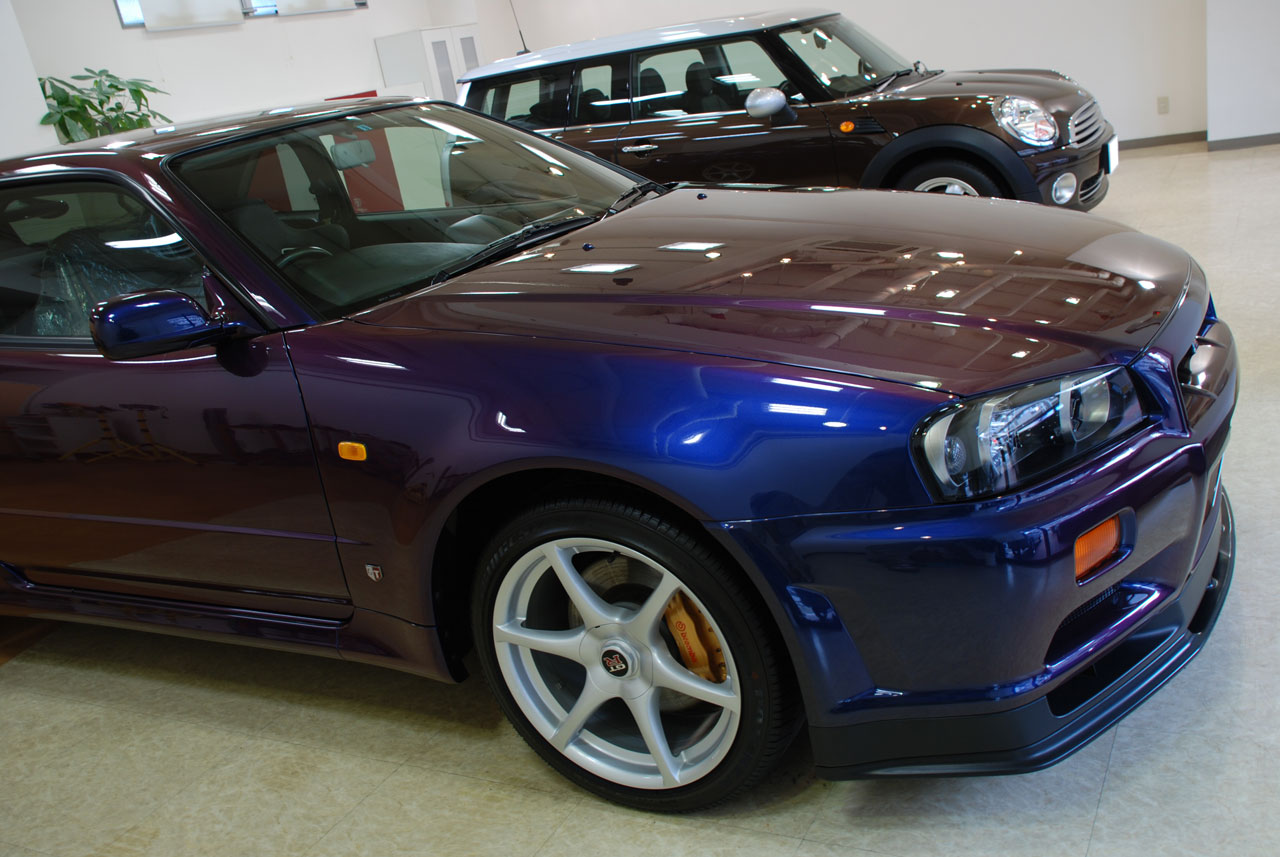 Midnight Purple Colour Codes Gt R Register Nissan Skyline And Drivers Club Forum